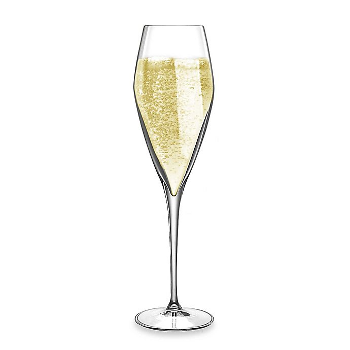 Alternate image 1 for Luigi Bormioli Prestige SON.hyx Champagne Flute Glasses (Set of 4)