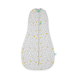 ergoPouch® Triangle Pops Organic Cotton Cocoon Swaddle Bag in White