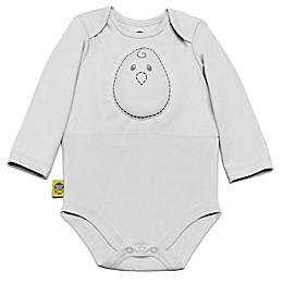 Nested Bean® Zen Weighted Bodysuit in Grey Mist