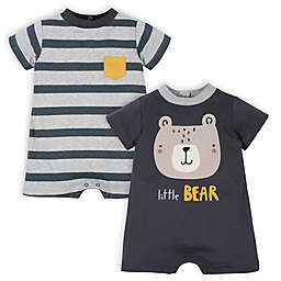 Gerber® 2-Pack Bear Rompers