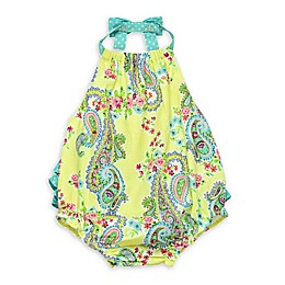 Baby Starters® Paisley Bubble Sunsuit in Yellow