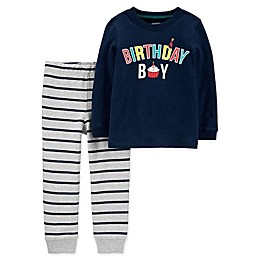 carter's® 2-Piece Birthday Boy Toddler Shirt and Pant Set