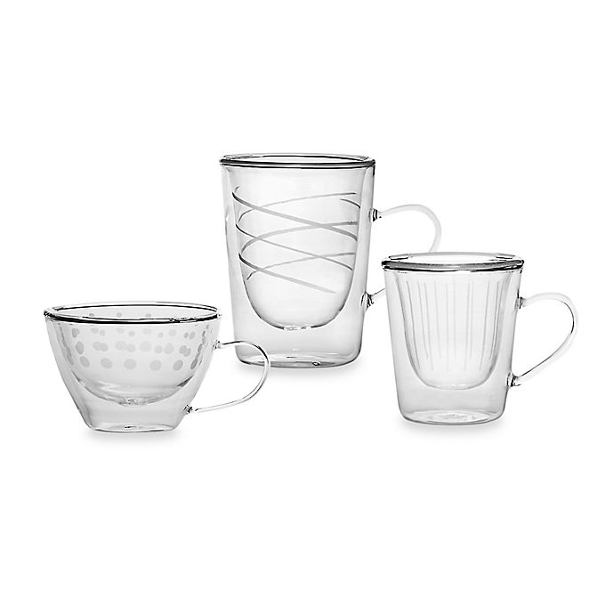 Alternate image 1 for Mikasa® Cheers Insulated Drinkware (Set of 4)