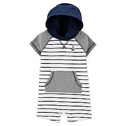 carter's® Stripe Hooded Romper