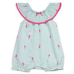 Baby Starters® Flamingo Bubble Romper in Green
