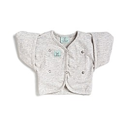 ergoPouch® Size 2-6M Organic Cotton Butterfly Cardi in Grey
