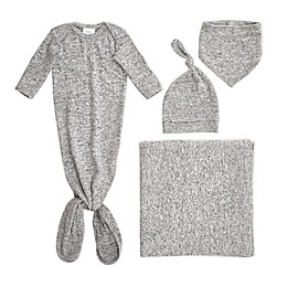 aden + anais® 5-Piece Snuggle Knit Newborn Gift Set in Grey