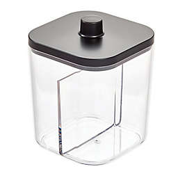 iDesign® Ilese Divided Canister in Matte Black