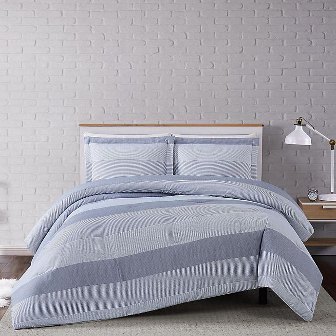 Alternate image 1 for Truly Soft® Multi Stripe 3-Piece Duvet Cover Set
