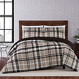 Truly Soft® Paulette Plaid 3-Piece Duvet Set