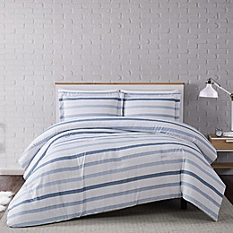 Truly Soft® Waffle Stripe 3-Piece Duvet Cover Set