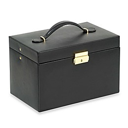 Wolf Designs® Chelsea Large Jewelry Case in Black