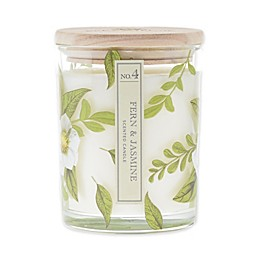 Bee & Willow™ Home Peppered Fern and Jasmine 15 oz. Cylinder Jar Candle with Lid