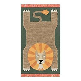 Novogratz by Momeni® Atticus Lion Tufted Area Rug in Green