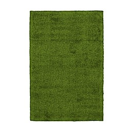 ECARPETGALLERY Grass Rug in Green