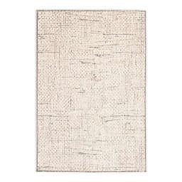 ECARPETGALLERY Exprsion Area Rug in Grey/Ivory
