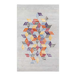 Momeni® Millennia Abstract 5' x 8' Multicolor Area Rug