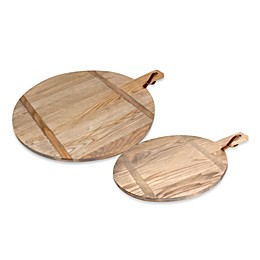 J.K. Adams Co. 1761 Collection Round Cutting Board