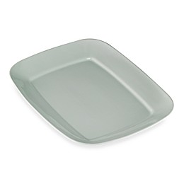 Real Simple® Large Rectangular Rim Serving Platter in Seaglass