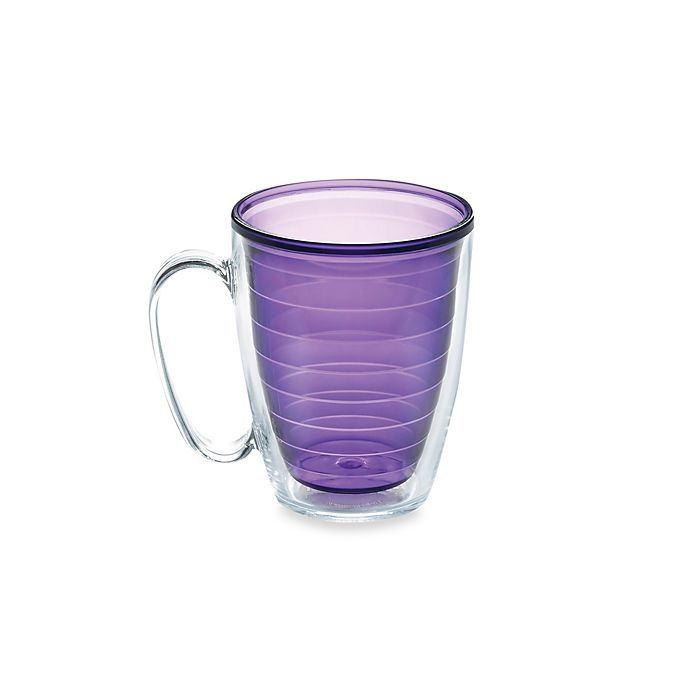 Alternate image 1 for Tervis® Colored 15-Ounce Mug in Amethyst