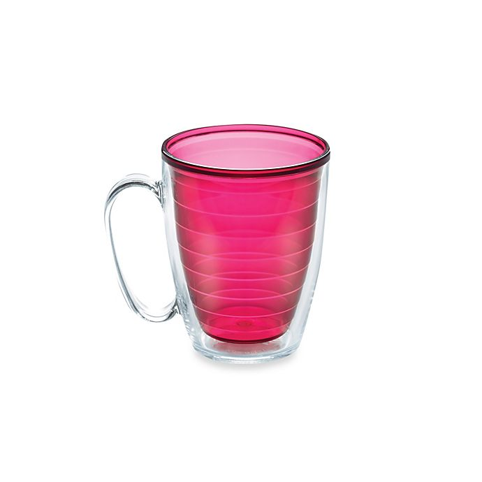 Alternate image 1 for Tervis® Colored 15-Ounce Mug in Ruby