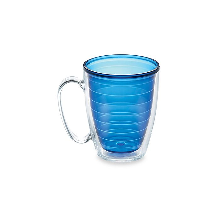 Alternate image 1 for Tervis® Colored 15-Ounce Mug in Sapphire