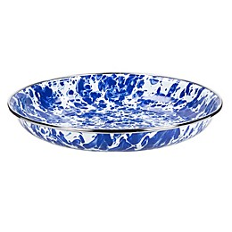 Golden Rabbit® Cobalt Swirl Pasta Plates (Set of 4)