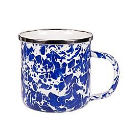 Golden Rabbit® Cobalt Swirl Coffee Mugs (Set of 4)