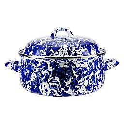 Golden Rabbit® Cobalt Swirl Dutch Oven with Lid