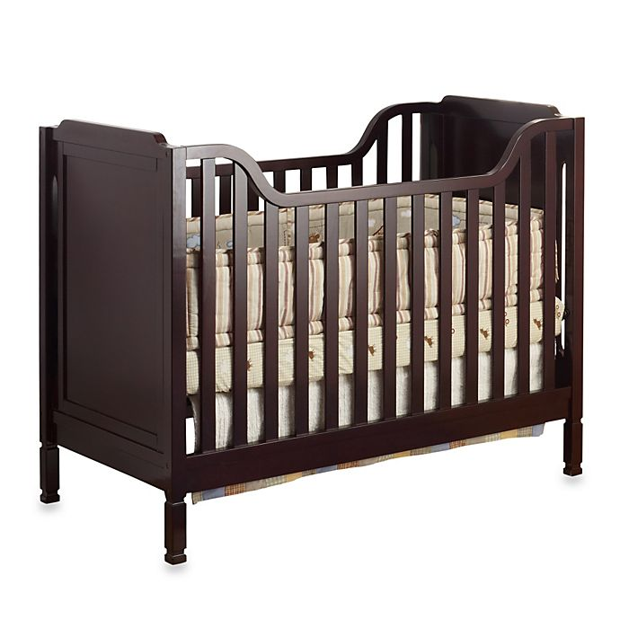 Alternate image 1 for Sorelle Bedford Classic Crib in Espresso