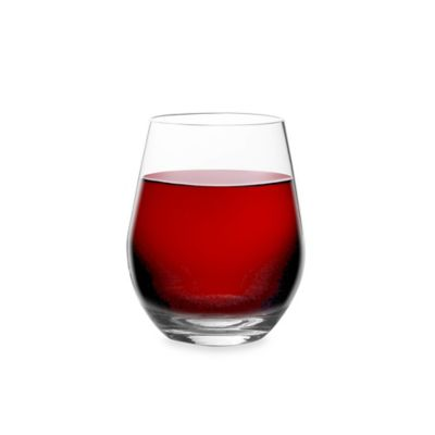 Tritan Shatterproof Clear Stemless Red Wine Glass