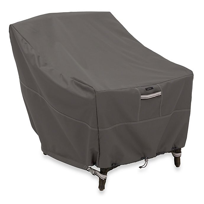 Alternate image 1 for Classic Accessories® Ravenna Adirondack Chair Cover in Dark Taupe
