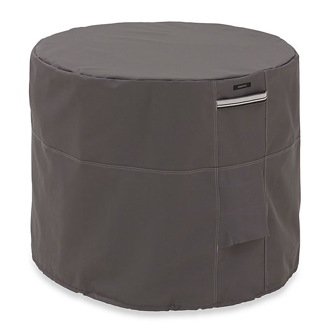 Alternate image 1 for Classic Accessories Ravenna Round Conditioner Cover in Dark Taupe