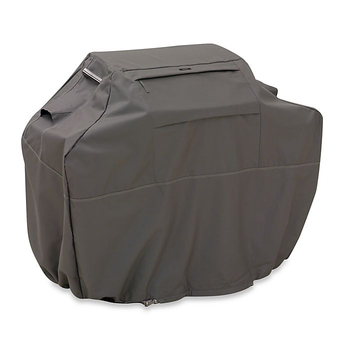Alternate image 1 for Classic Accessories® Ravenna Grill Cover in Dark Taupe