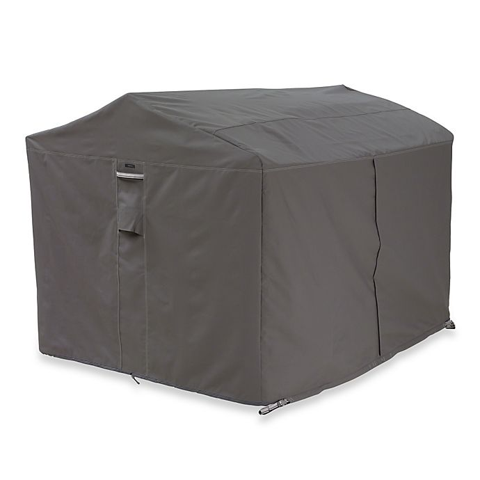 Alternate image 1 for Classic Accessories® Ravenna Canopy Swing Cover in Dark Taupe