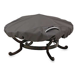 Classic Accessories® Ravenna Round Fire Pit Cover in Dark Taupe