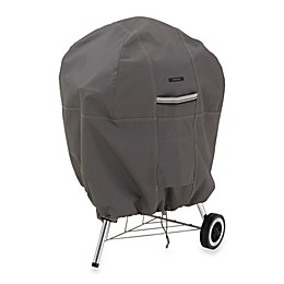 Classic Accessories® Ravenna Kettle Grill Cover in Dark Taupe