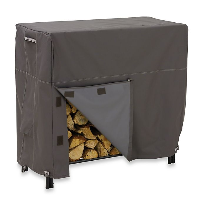 Alternate image 1 for Classic Accessories® Ravenna Log Rack Cover in Dark Taupe
