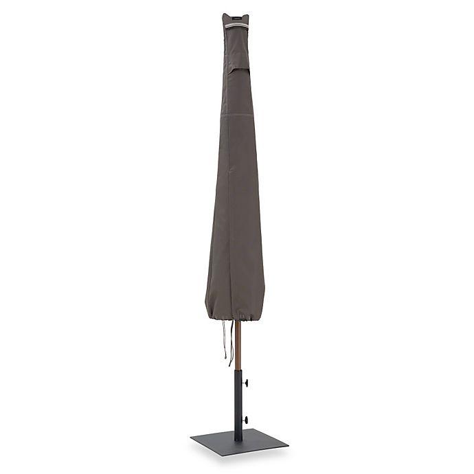 Alternate image 1 for Classic Accessories® Ravenna Patio Umbrella Cover in Dark Taupe
