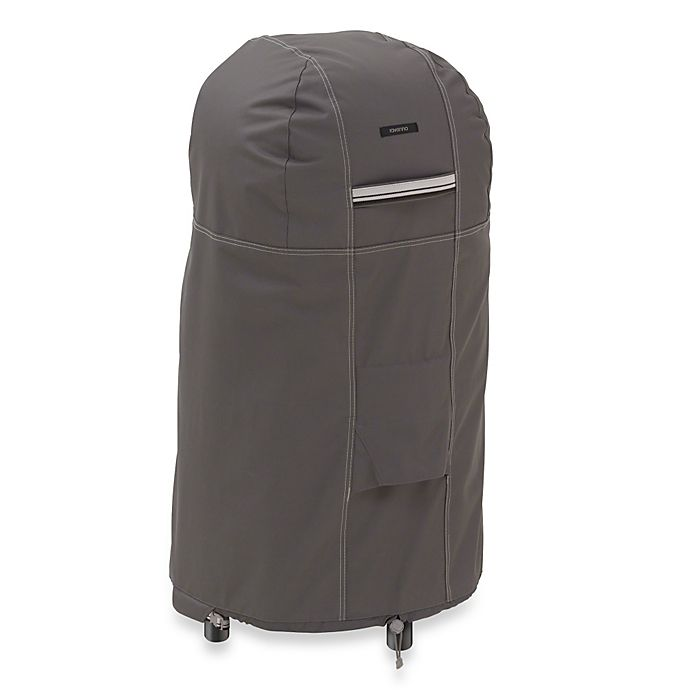 Alternate image 1 for Classic Accessories® Ravenna Round Smoker Cover in Dark Taupe
