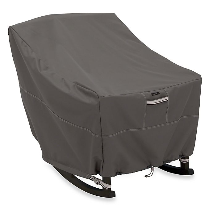 Alternate image 1 for Classic Accessories® Ravenna Rocking Chair Cover in Dark Taupe