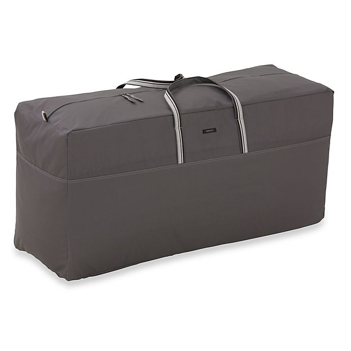 Alternate image 1 for Classic Accessories® Ravenna Patio Cushion Bag in Dark Taupe