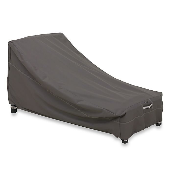 Alternate image 1 for Classic Accessories® Ravenna Chaise Cover in Dark Taupe