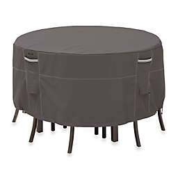 Classic Accessories® Ravenna Medium Patio Bistro Table and Chair Cover in Dark Taupe