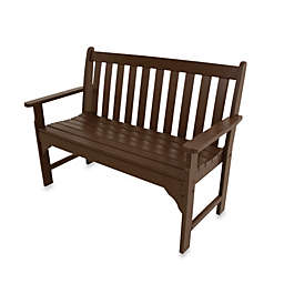 POLYWOOD® Vineyard Bench in Mahogany