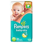 Pampers® Baby Dry™ 44-Count Size 1 Jumbo Pack Disposable Diapers