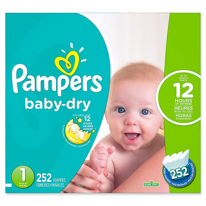 Pampers New Baby Oder Baby Dry