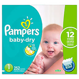 Pampers® Baby Dry™ 252-Count Size 1 Economy Pack Plus Disposable Diapers