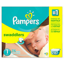 Pampers® Swaddlers™ Overnights Super Pack Diapers