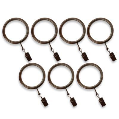Cambria 174 Premier Complete Clip Rings In Oil Rubbed Bronze
